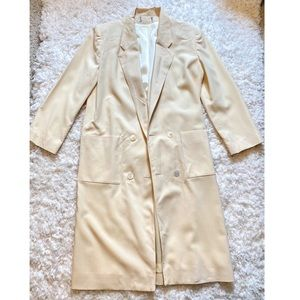 Vintage union label pure wool coat for women